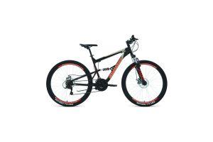 Велосипед 27,5' Forward Raptor 27,5 2.0 disc Черный/Красный 20-21 г