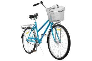Велосипед Stels Navigator 26' 200 Lady Z010 Бирюзовый (с корзиной) (LU094046)